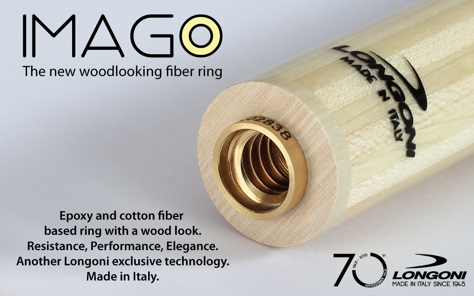 imago the new woodlooking fiber ring